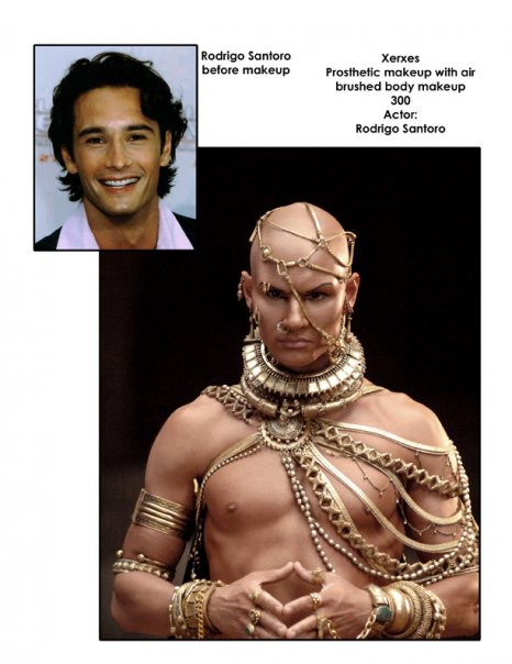Rodrigo as Xerxes